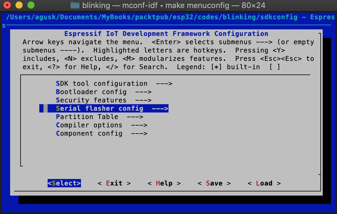 Demo 1 – building your first ESP32 program - Internet of