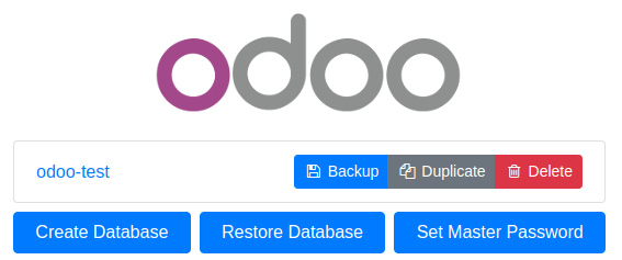 Figure 1.3 – Database manager