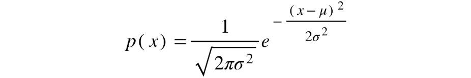 Figure 1.24: A Gaussian distribution