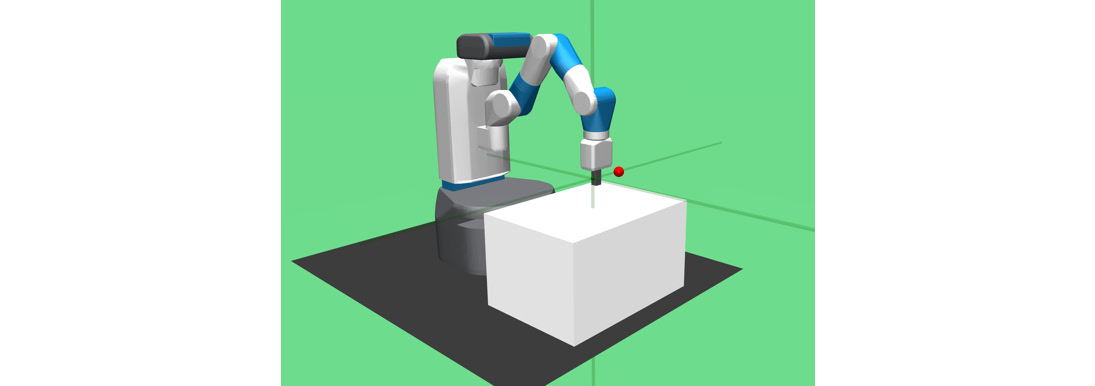 Figure 1.38: A robotic task from the Gym robotics suite