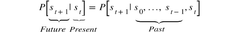 Figure 2.3: Expression for the Markov property