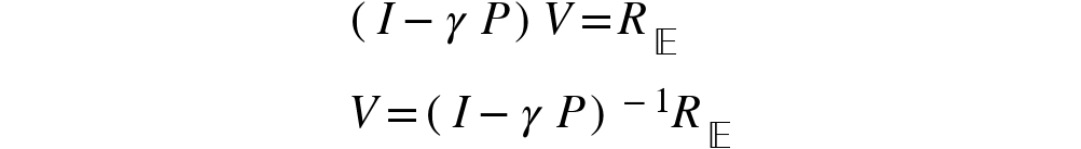 Figure 2.19: Value function using the Bellman equation