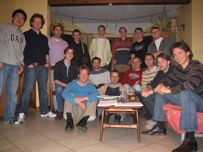 Figure 1.4 – Original Mendix team members, 2007