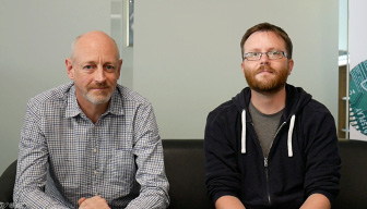 Figure 1.4 – Dave Conway-Jones and Nick O'Leary