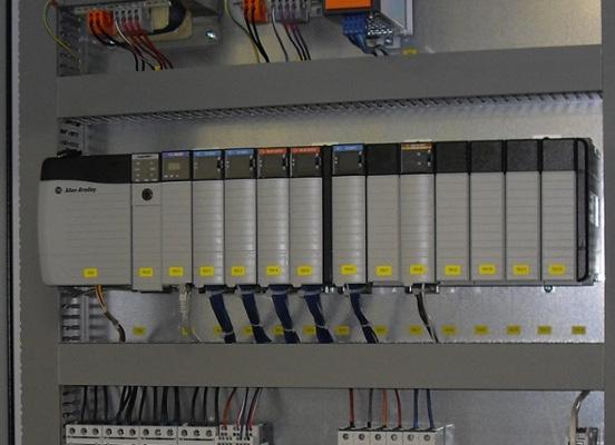 Figure 1.5 – An Allen-Bradley rack-mounted PLC