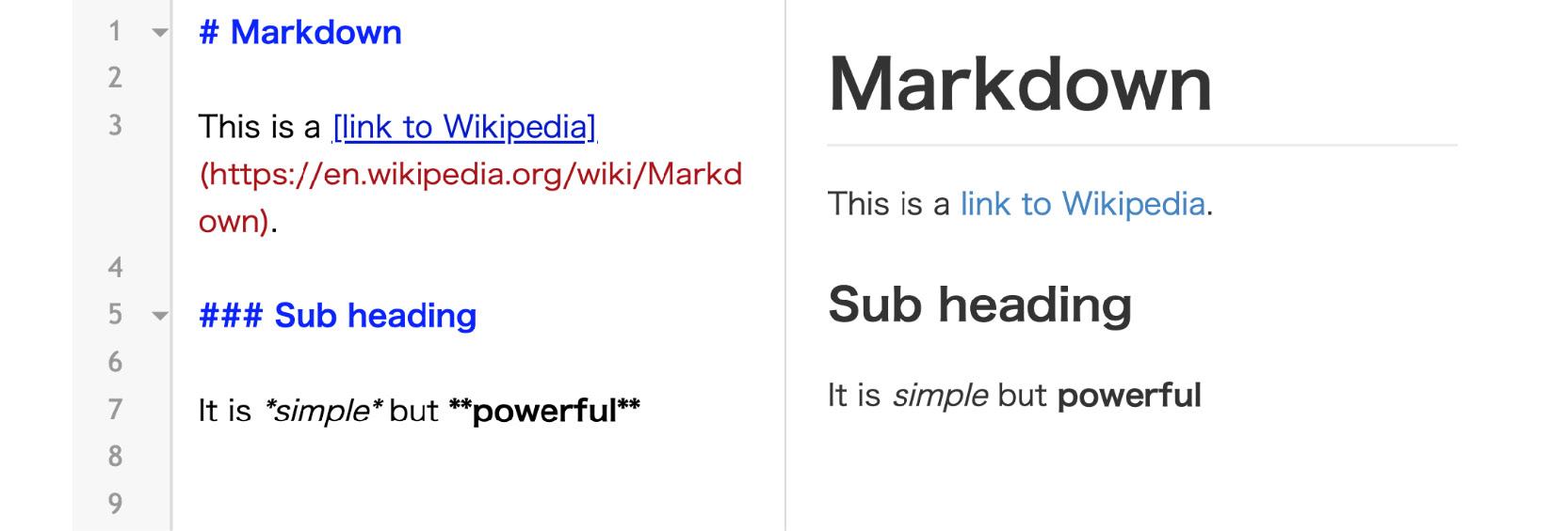 Figure 1.2: Sample Markdown document