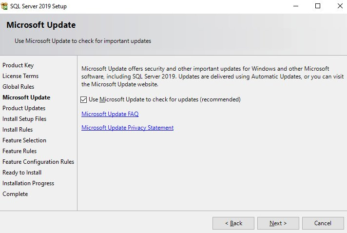 Figure 1.4 – Adding available updates to the installation