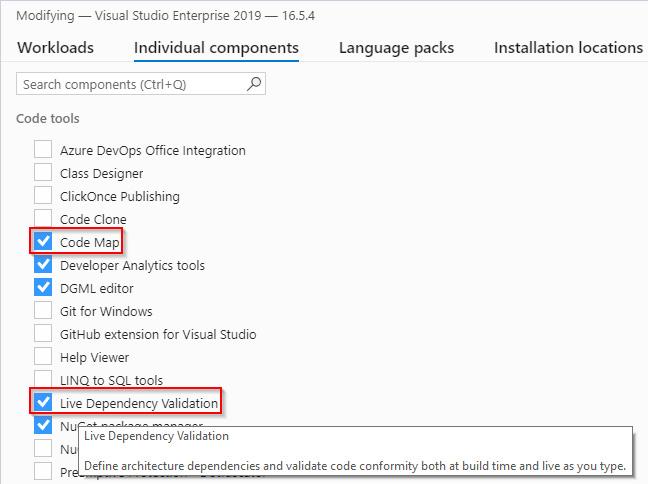 Figure 1.3 – Visual Studio Installer