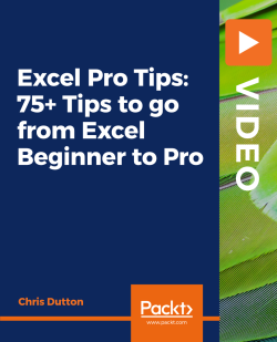 Excel Pro Tips: 75+ Tips to go from Excel Beginner to Pro [Video]