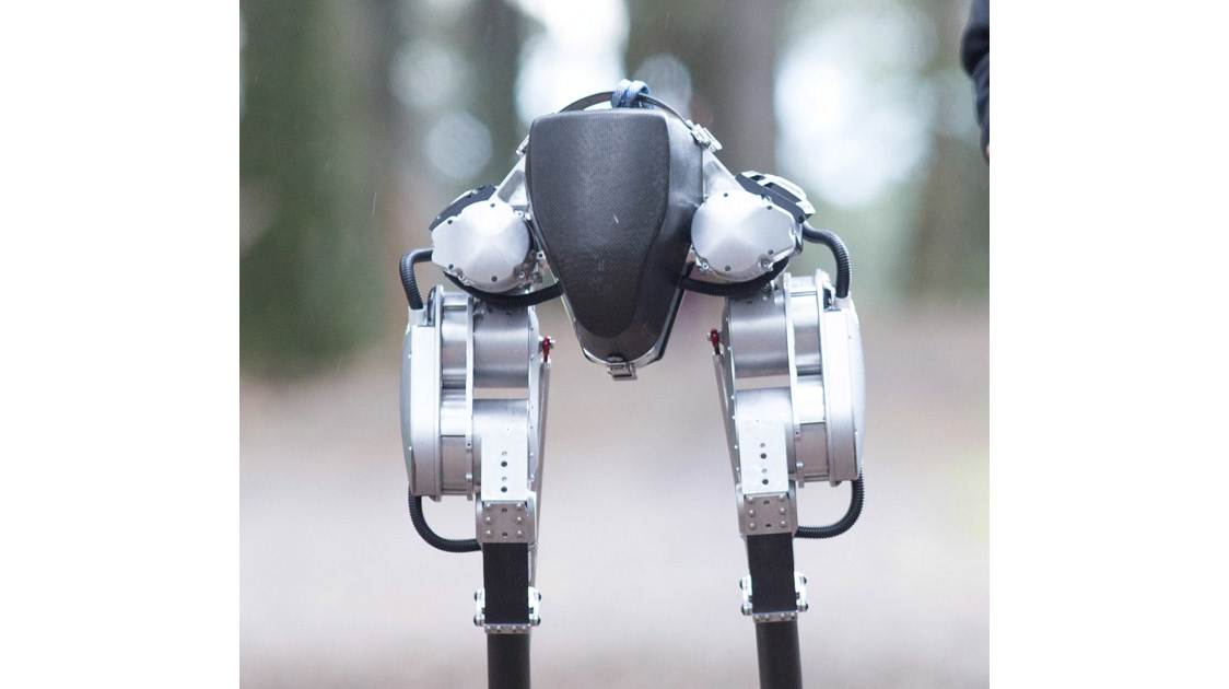 Figure 1.2: Cassie, a walking robot, photo by Oregon State University (CCSA)
