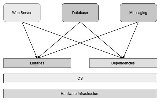 Figure 1.2 – Applications on a server
