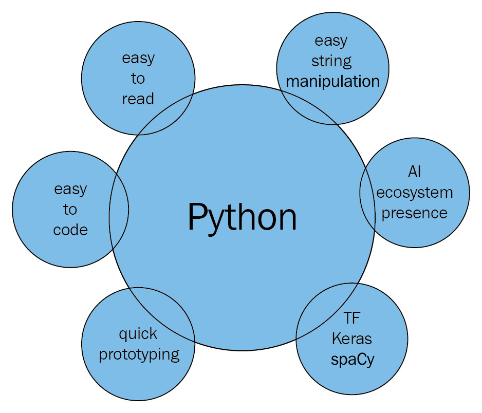 Figure 1.4 – NLP with Python overview