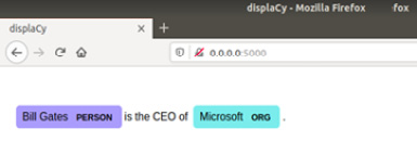 Figure 1.18 – The entity visualization is displayed on your browser