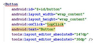 Figure 2.14 – New block of code among the XML
