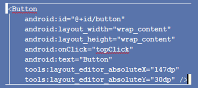 Figure 2.16 – Select all the button code