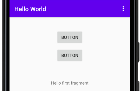 Figure 2.20 – Two button options