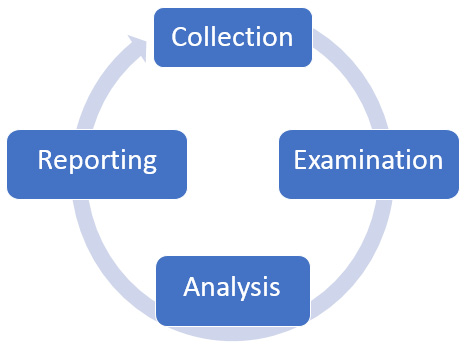 Figure 1.6 – Forensics cycle