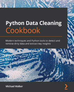 Book cover image for APython Data Cleaning Cookbook