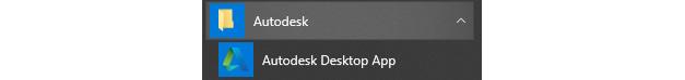 Figure 1.14 – Autodesk Desktop App
