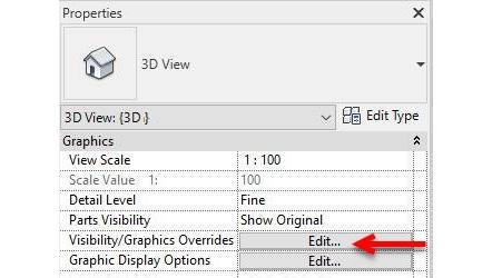 Figure 1.25 – Visibility/Graphics Overrides