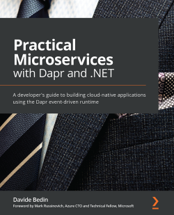 Book cover image for Practical Microservices with Dapr and .NET