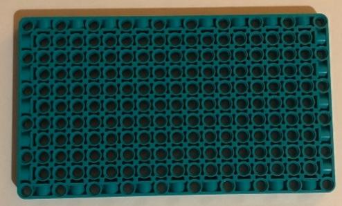 Figure 2.4 – The 11x19x1 panel plate