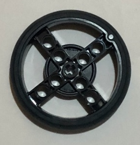 Figure 2.5 – This is the standard tire that comes with the kit