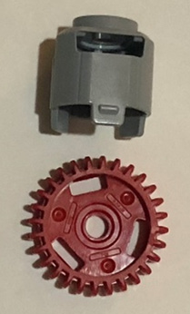 Figure 2.7 – Gear differential elements