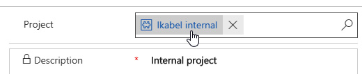 Figure 2.21 – Project table navigation