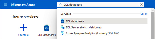 Figure 1.15 – Azure SQL databases