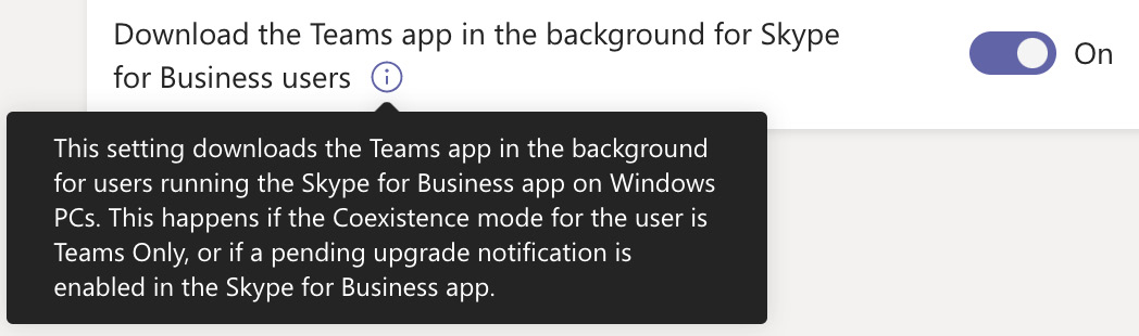 Figure 1.21 – Downloading the Teams app in the background