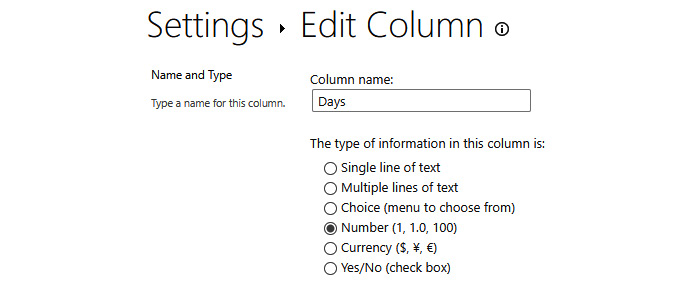 Figure 2.17 – Changing your column's type