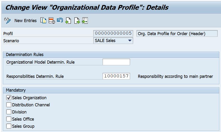 Figure 2.6 – Maintaining an organizational data profile