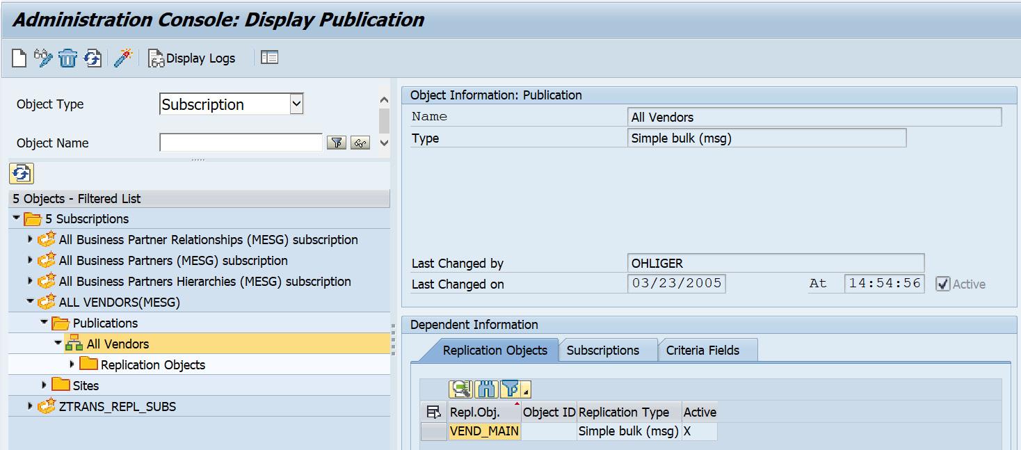 Figure 2.37 – Vendor subscription in SMOEAC