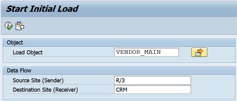 Figure 2.41 – Vendor initial load via R3AS