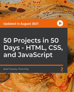 50 Projects in 50 Days - HTML, CSS, and JavaScript [Video]