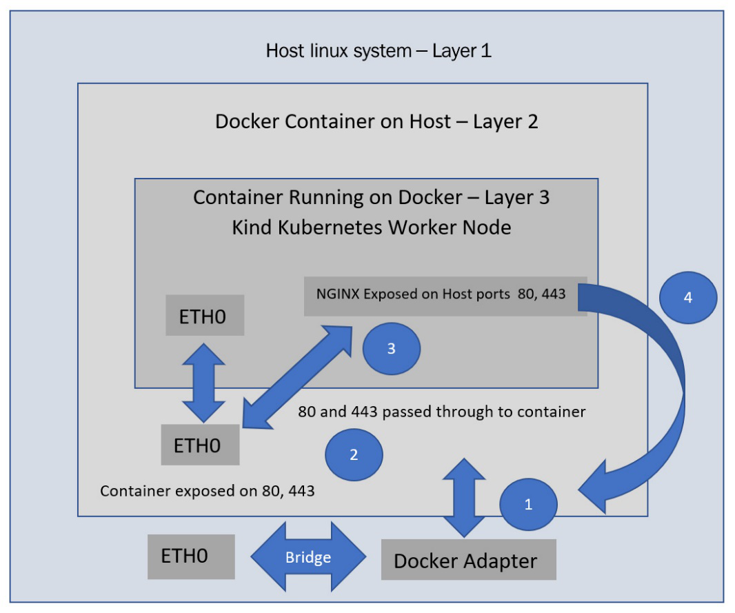 Figure 1.11 – STDOUT output from the container