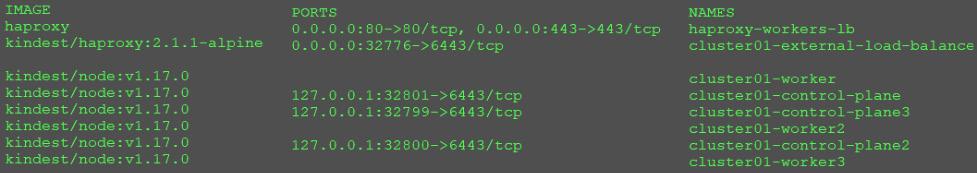 Figure 1.12 – docker ps output