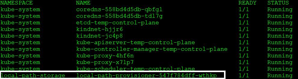 Figure 1.9 – docker ps output
