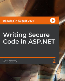 Writing Secure Code in ASP.NET [Video]