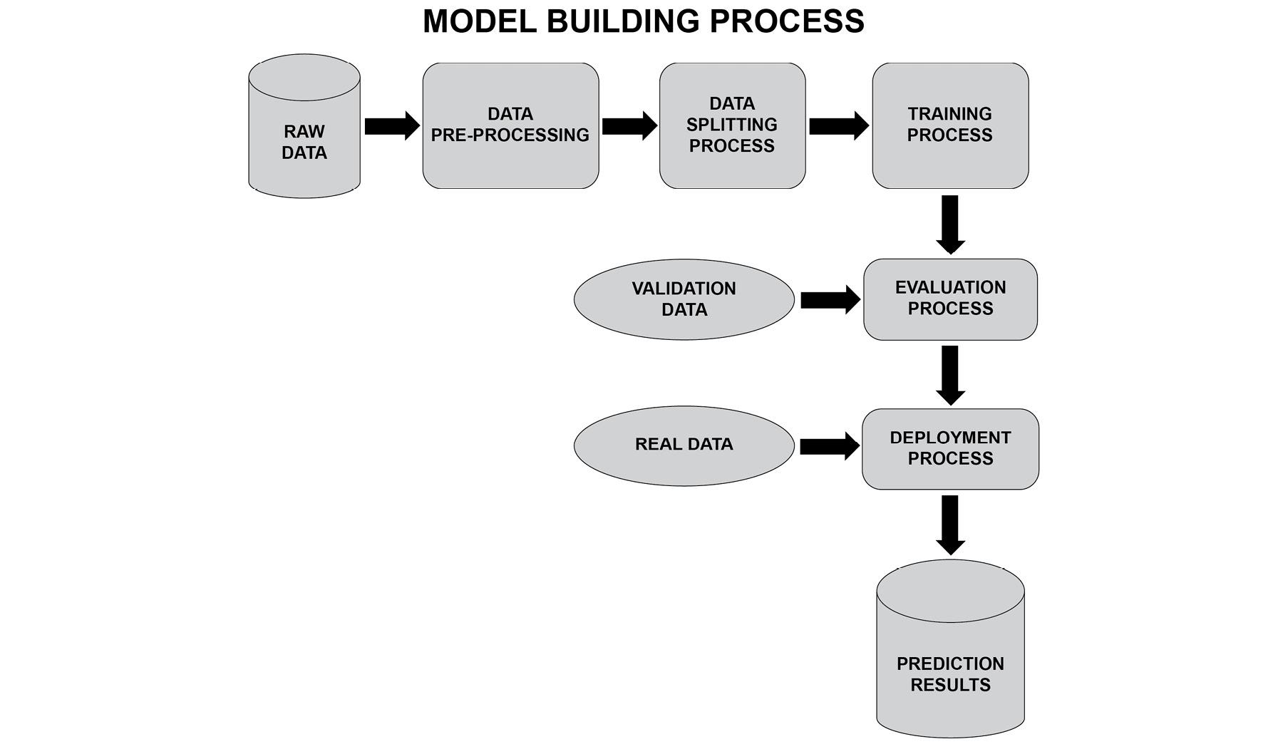 Figure 1.1: The model building process