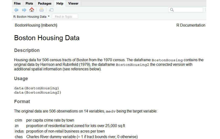 Figure 1.11: More information about the Boston Housing dataset