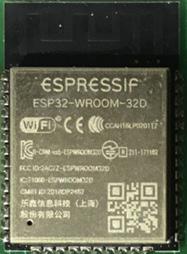 Figure 1.2 – ESP32-WROOM-32D module