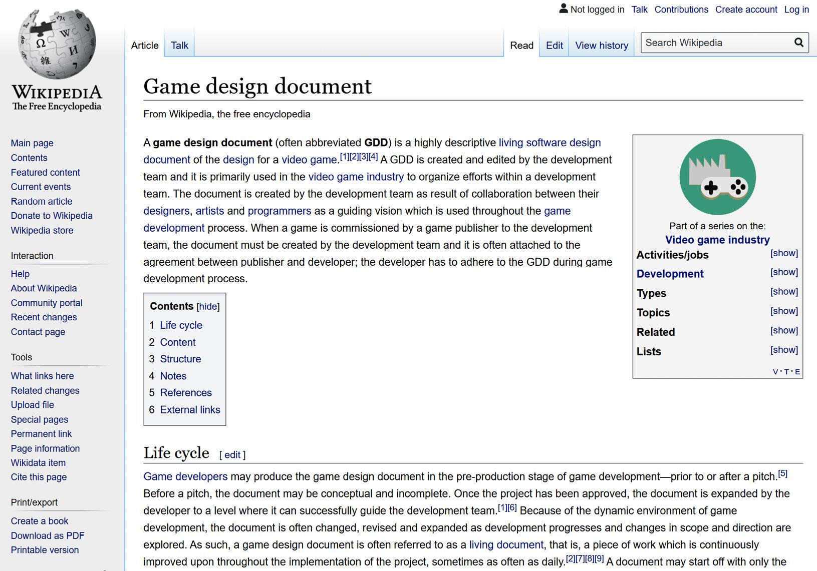 Figure 1.8 – Wikipedia site