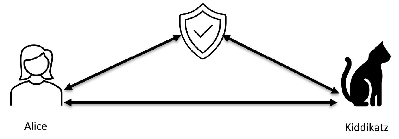 Figure 1.4 – A transaction using a TTP