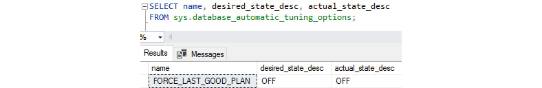 Figure 1.19: Automatic plan correction is turned off