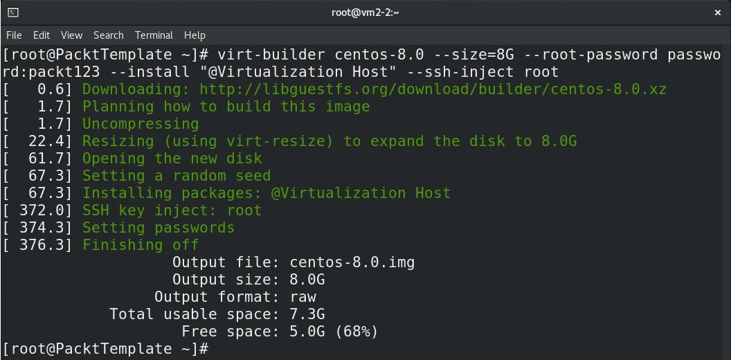 Figure 8.27 – Adding Virtualization Host