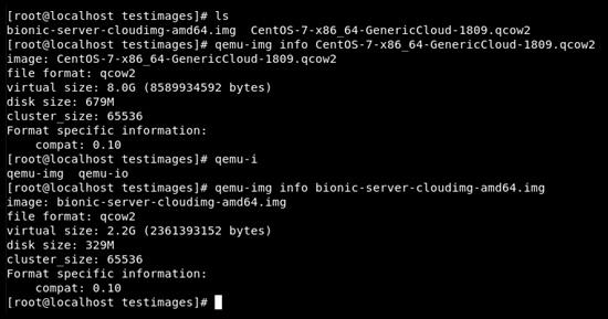 Figure 9.3 – Cloud-init image sizes