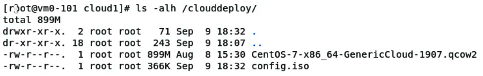 Figure 11.33 – Checking the content of a directory