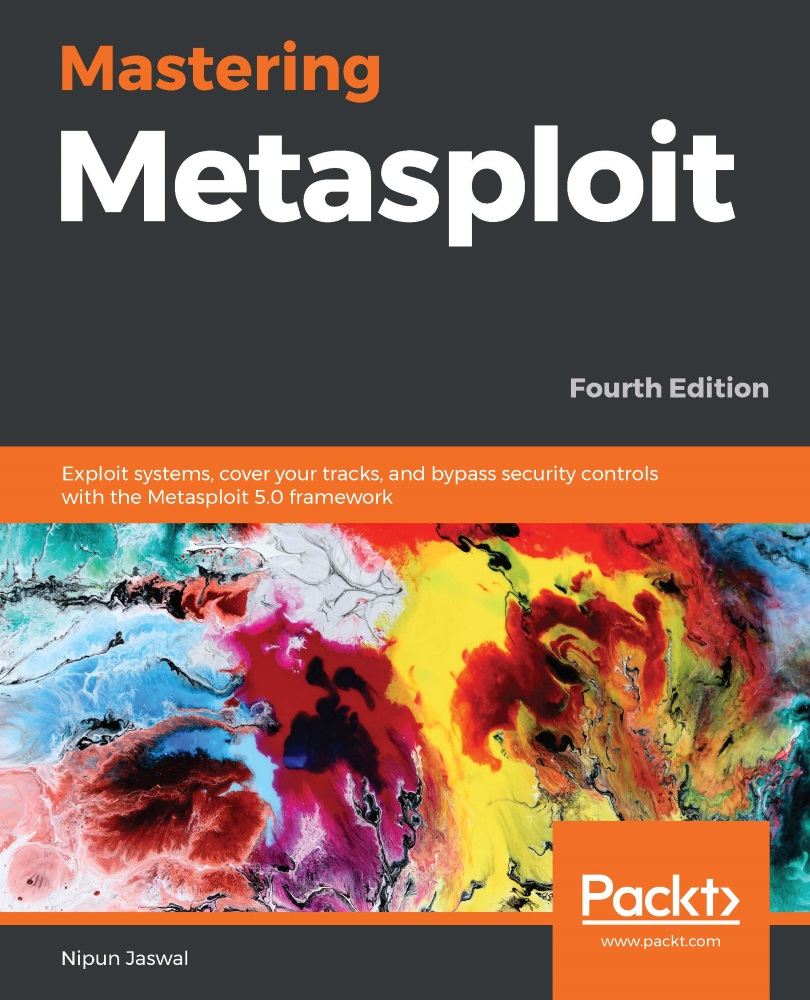 Mastering Metasploit - Fourth Edition